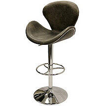 Winston Swivel Stool (Ebony)