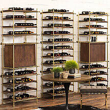 Alsace Modular Wine Racking Recommended Configurations